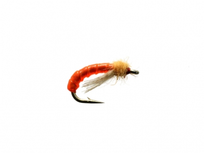 Caddis Larva - Orange