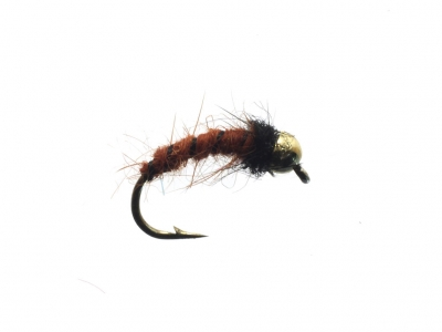 GBH Hairy Brown Caddis Larva