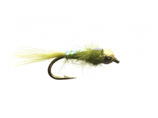 Hare's Ear Flashback Nymph Olive