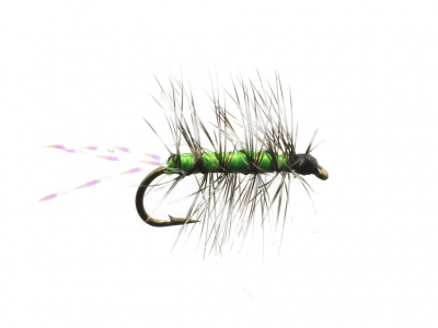 Crackle Black Gnat Green